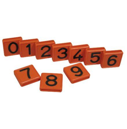 Halsremsmärke Orange (Styckvis eller 10-pack)