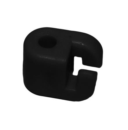 Trådhållare till 8 mm glasfiberstolpe 100-pack