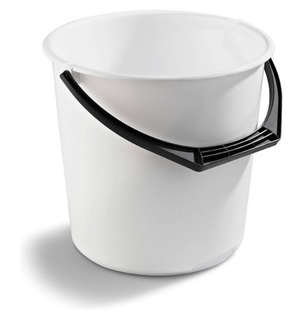 Hink 10 liter Nordiska Plast - Vit