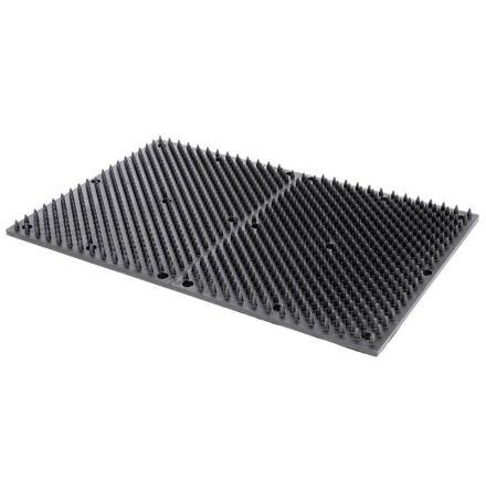 Koborste / Pälskliare GummiMatta 60 x 40 cm