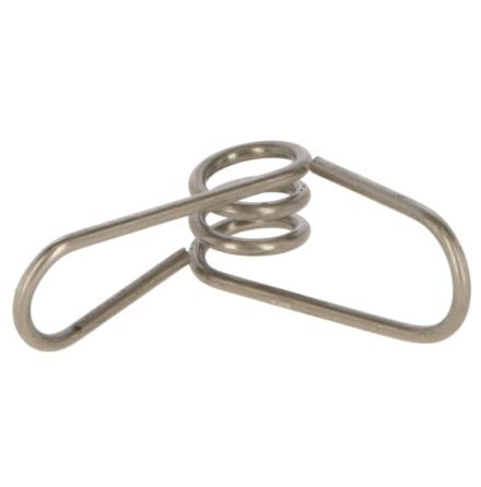 Trådhållare metallclips för Glasfiberstolpe 10 mm 30-pack