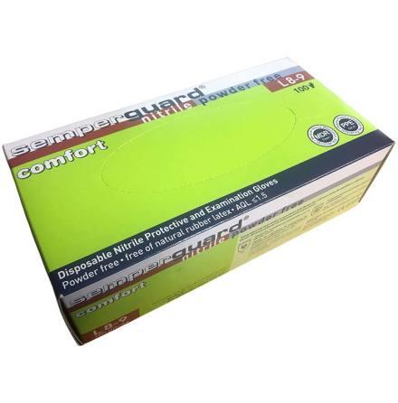 Nitrilhandske Semperguard Comfort NBR PF - 100-pack