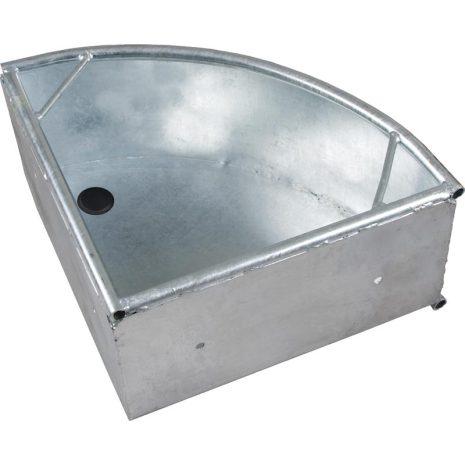 Foderkrubba Metall Hörnmontage